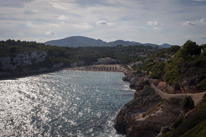 Вигляд на Cala Romàntica