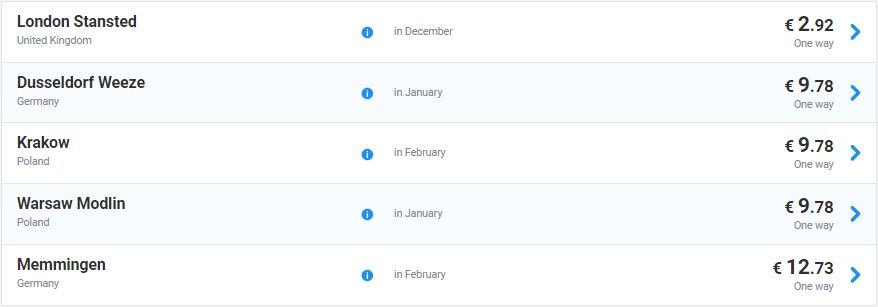 Розпродаж Ryanair  авіаквитки з України у Лондон від €3 1ca46e233c1ab